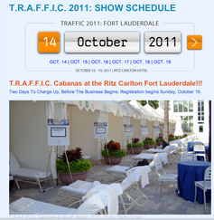 T.R.A.F.F.I.C. Traffic Domain Conference and Expo 2011 Ritz Carlton Fort Lauderdale Florida October 2011 Domain Auction Versteigerung / Auktion von Domainnamen